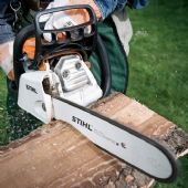Stihl Petrol Chainsaws for Cutting Firewood & Grounds Maintenance